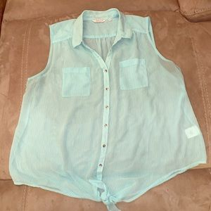 Size 18 Reitman's Sheer Blouse